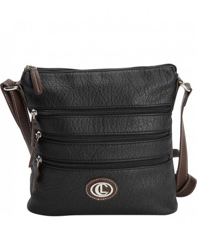 Aurielle Carryland Zipgeist Crossbody Black