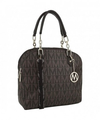 MKF Collection Signature Satchel Handbag