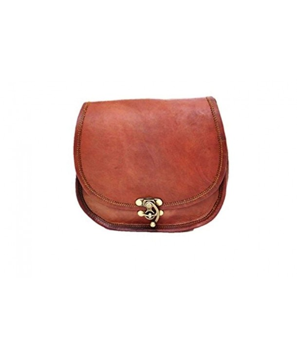 Leather Crossbody Messenger Shoulder Handbag