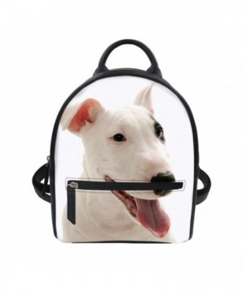doginthehole Terrier Leather Backpack Shoulder