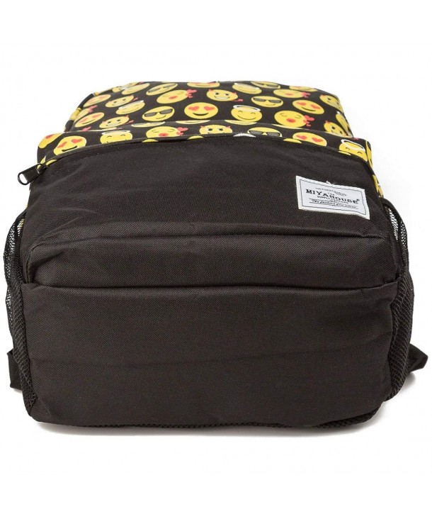 Canvas Backpack College Shoulder Teenage