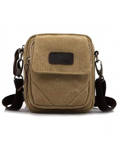 Naughtybags Unisex Vintage Canvas Shoulder