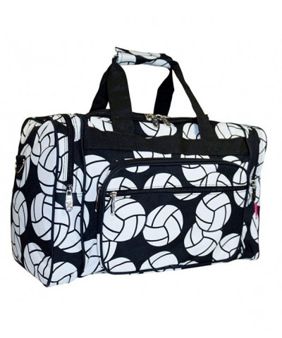 NGIL Volleyball Print Duffle Bag