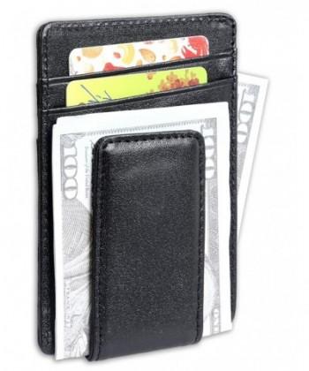 Leather Magnetic Wallets Pocket Wallet