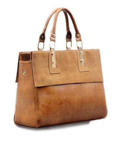 Guguyeah Genuine Leather Satchel Shoulder