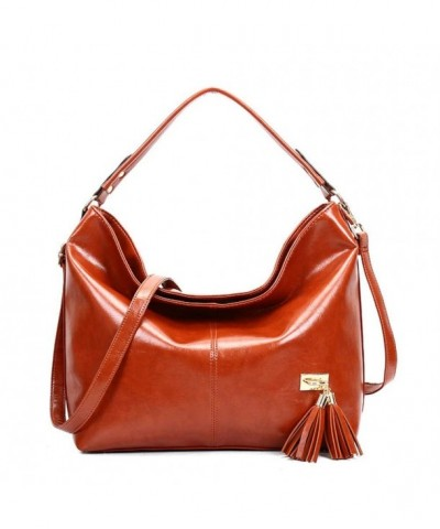 Handbag ISHOWDEAL Tassel Handle Messenger