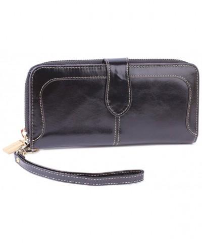 Borgasets Genuine Leather Wristlet Smartphone