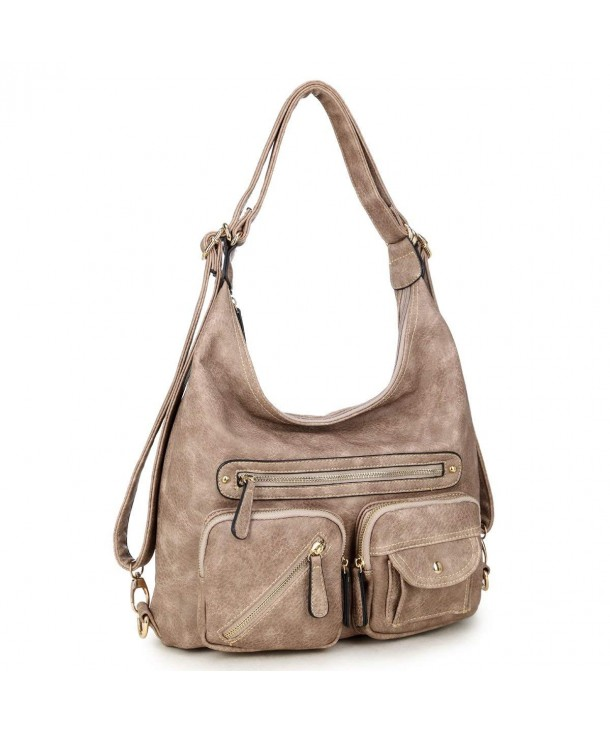 Dasein Classic Convertible Backpacks Shoulder