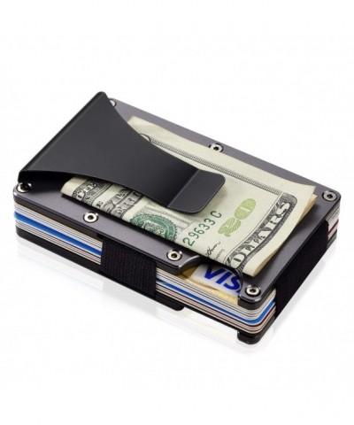 Aluminum Metal Wallet Blocking Minimalist