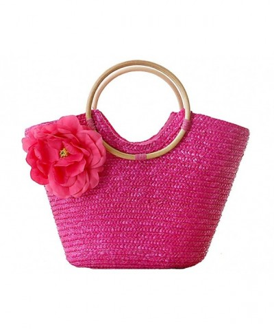 ILISHOP Womens Summer Handmade Handbag