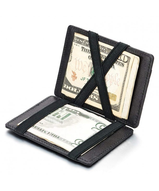 Two sided Compact Credit Business Leather