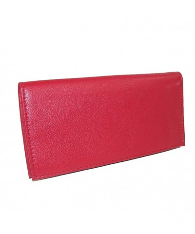 Paul Taylor Leather Checkbook Wallet