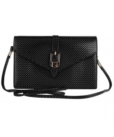 Black Elegant Diamond Clutch Crystal