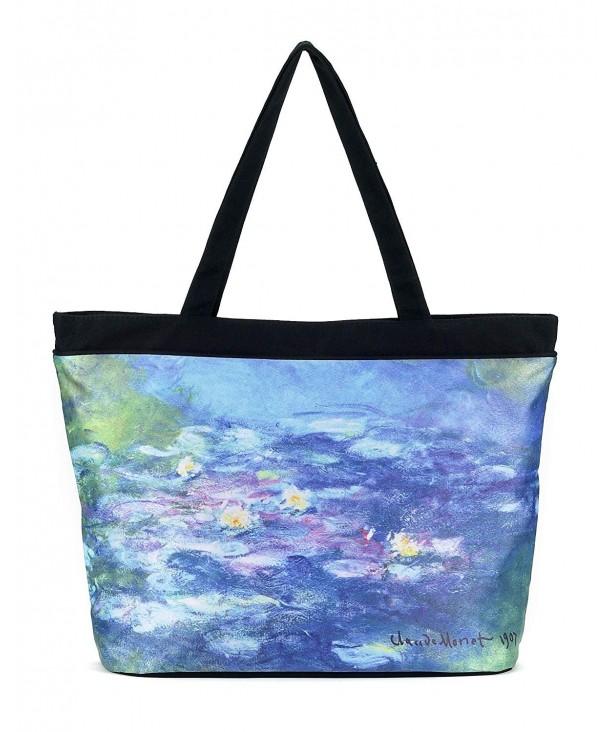 Monet Water Lilies Tote Bag
