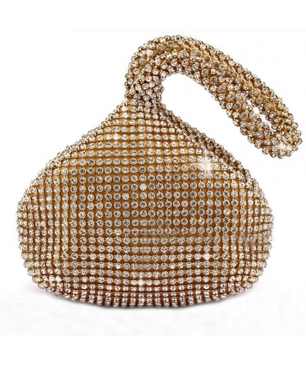 Catkit Rhinestone Trihedral Handbag Evening