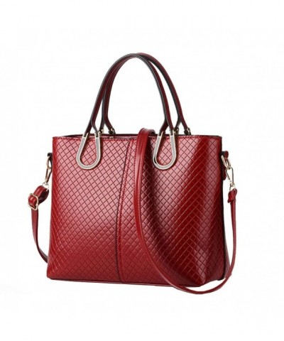 Angelliu Leather Handbag Messenger Shoulder
