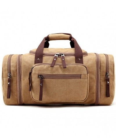 Kenox Oversized Canvas Luggage Weekend