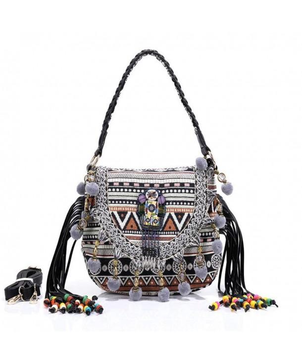 Womens Handbag Purses Bohemian Shoulder