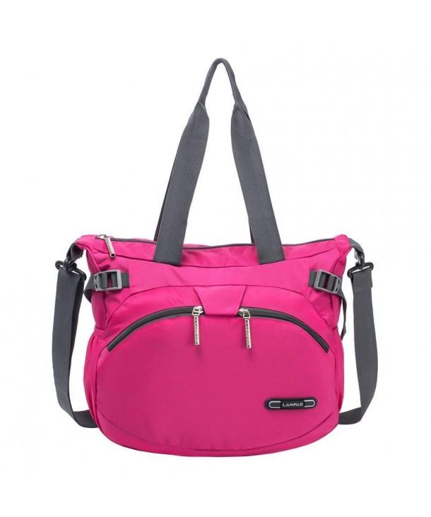 2eea0d14bf RLANDTO Lightweight Crossbody Shoulder Bag Waterproof Nylon Gym ...
