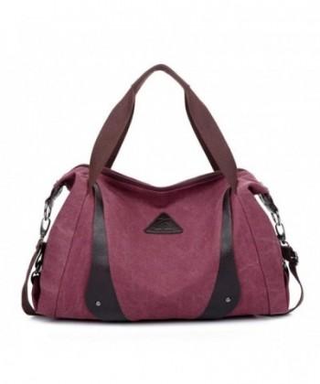 ZENTEII Women Canvas Handbag Shoulder