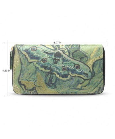 Womens Emperor Pattern Leather Wallet