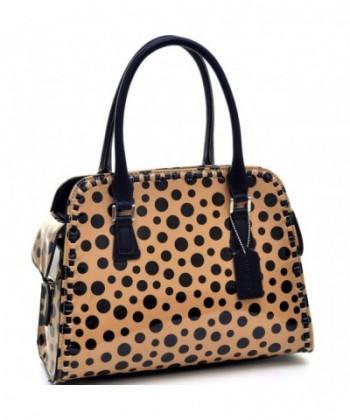 Fashion Handbag Polka Shoulder Pockets