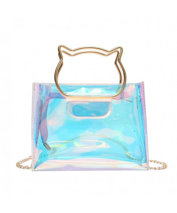 Holographic Clear Hologram Crossbody Handle