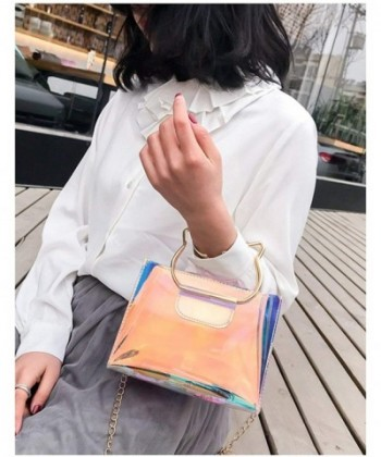 9954002d4 Available. Holographic Clear Hologram Crossbody Handle; Women Crossbody Bags  ...