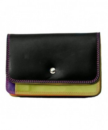 ILI Black Bright Leather Wallet
