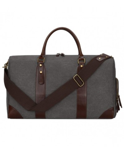 S ZONE Leather Shoulder Handbag Weekender