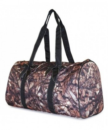 NGIL Camo Quilted Duffle Bag
