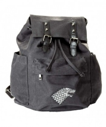 Game Thrones Canvas Backpack Stark