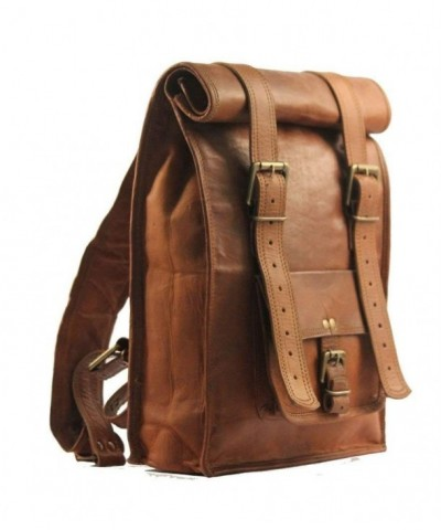 Urban Dezire Leather Backpack Rucksack