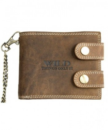 Mens Bikers Wallet Inch Chain