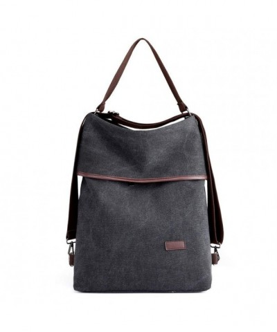 Vintage Canvas Shoulder Multifunctional Backpack