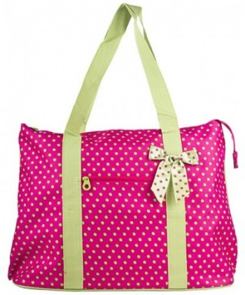 Ever Moda Polka Tote X Large