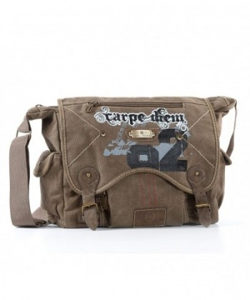Canvas School Work Messenger Shoulder