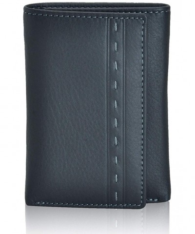 Slim Leather RFID Trifold Men