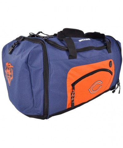 Chicago Bears Duffle Luggage Navy