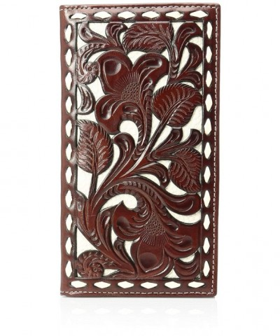 Nocona Mens Floral Inlay Rodeo