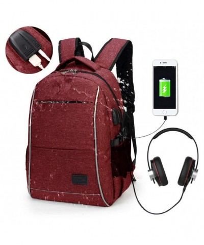 Backpack Charging Headphone Interface Business