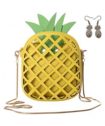 QZUnique Womens Pineapple Shaped Handbag