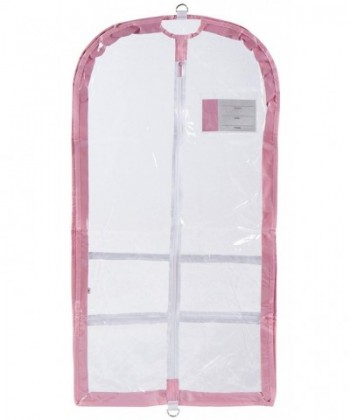 Danshuz Clear Garment Pocket Pink