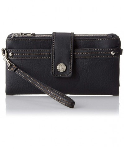 Relic Womens Vicky Checkbook Black