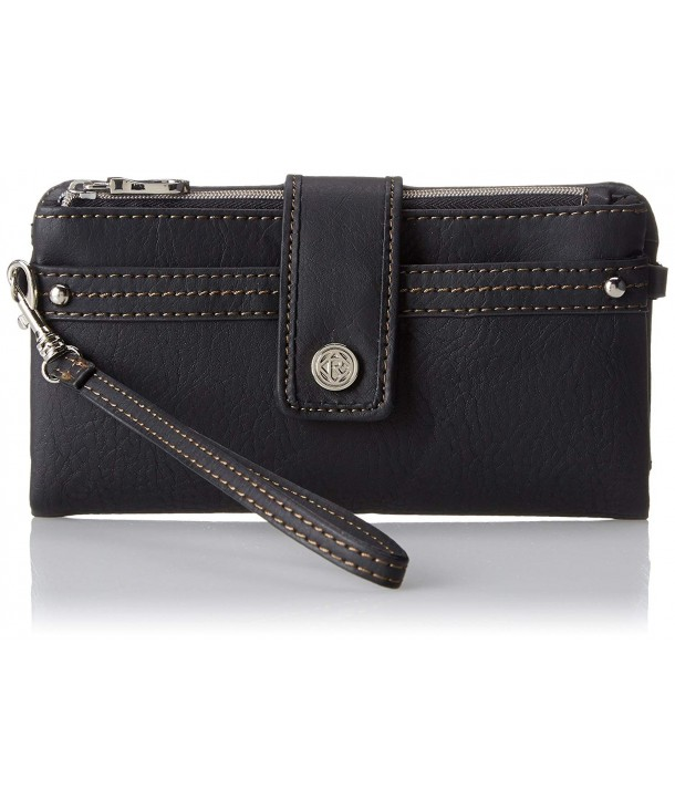 Relic Womens Vicky Checkbook Black
