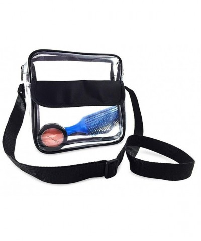 Cross Body Messenger Shoulder Approved Transparent