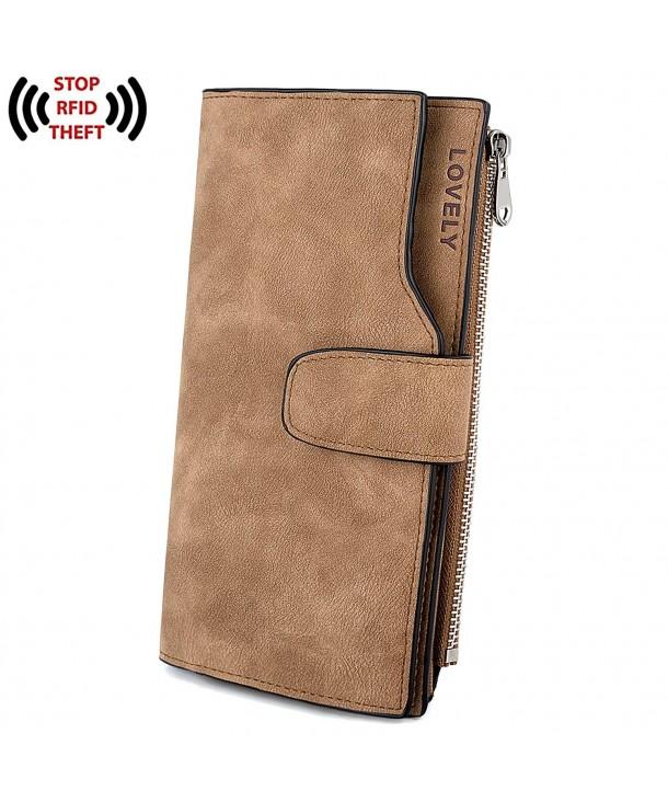 UTO Wallet Leather Zipper Holder