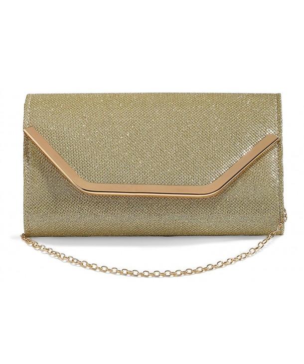 Envelope Clutch Glitter Evening Handbag