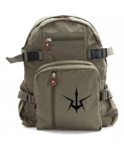 Geass Heavyweight Canvas Backpack Olive