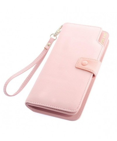 Woolala Capacity Wallet Leather Wristlet